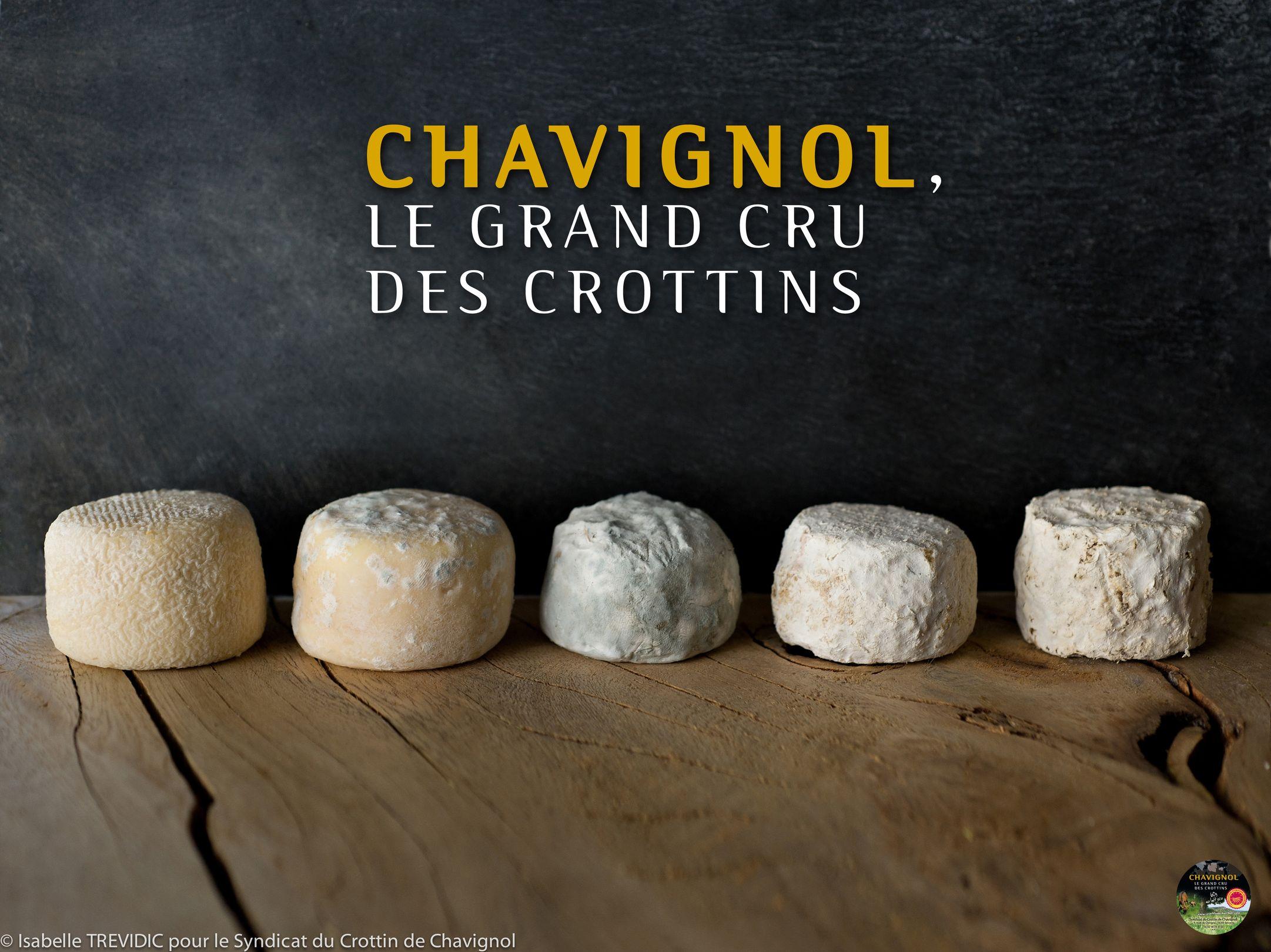 Crottin de Chavignol ou Chavig...
